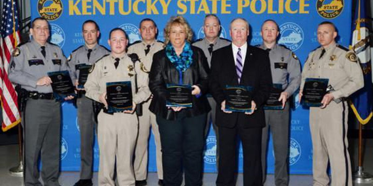 KSP presents Excellence in Highway Safety Awards