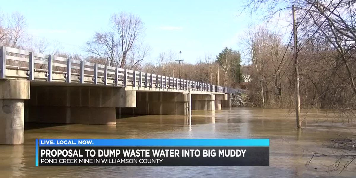 Proposal to dump waste water into Big Muddy River