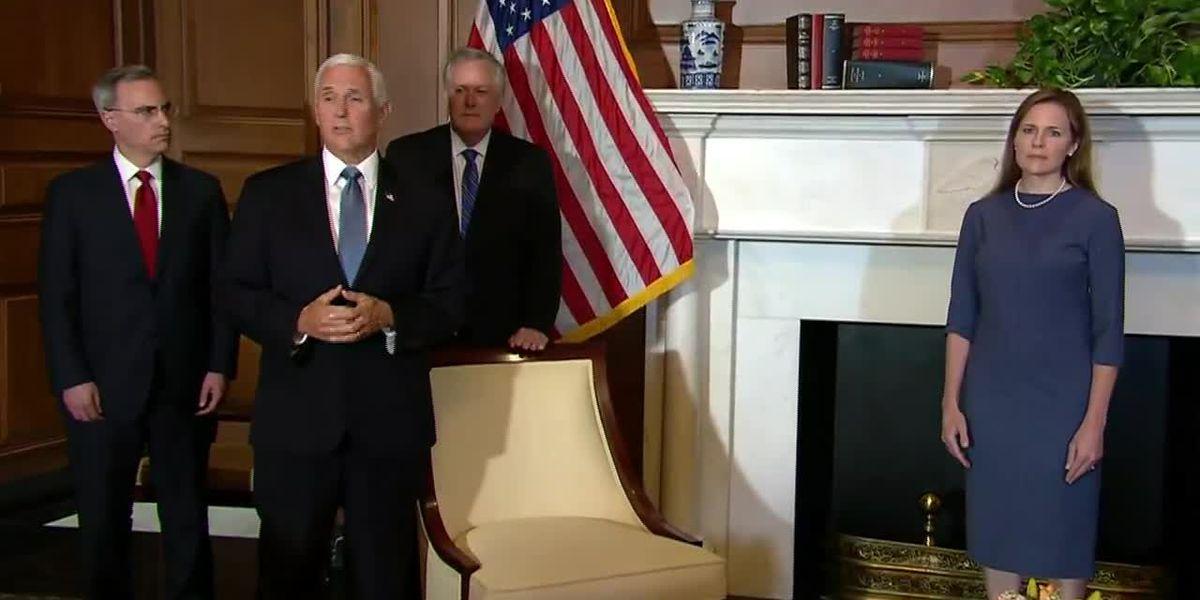 GOP senators praise Trump pick ahead of confirmation fight