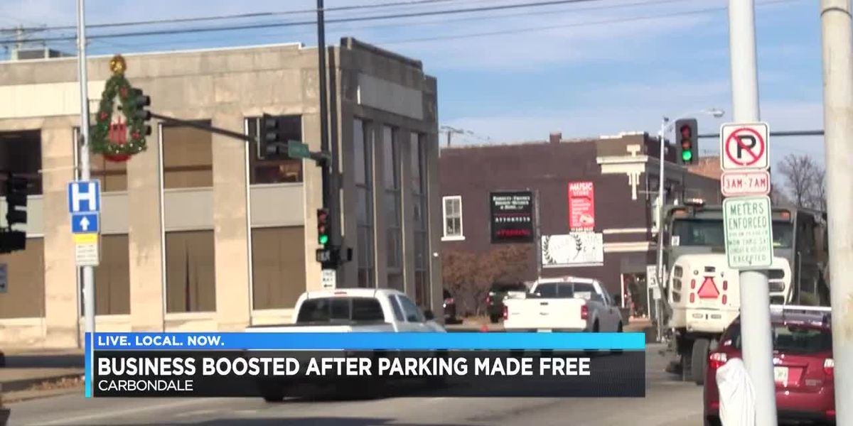 Business boost after parking made free