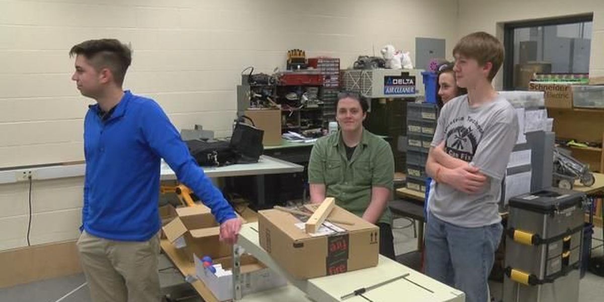 Scott City robotics team brings home trophy
