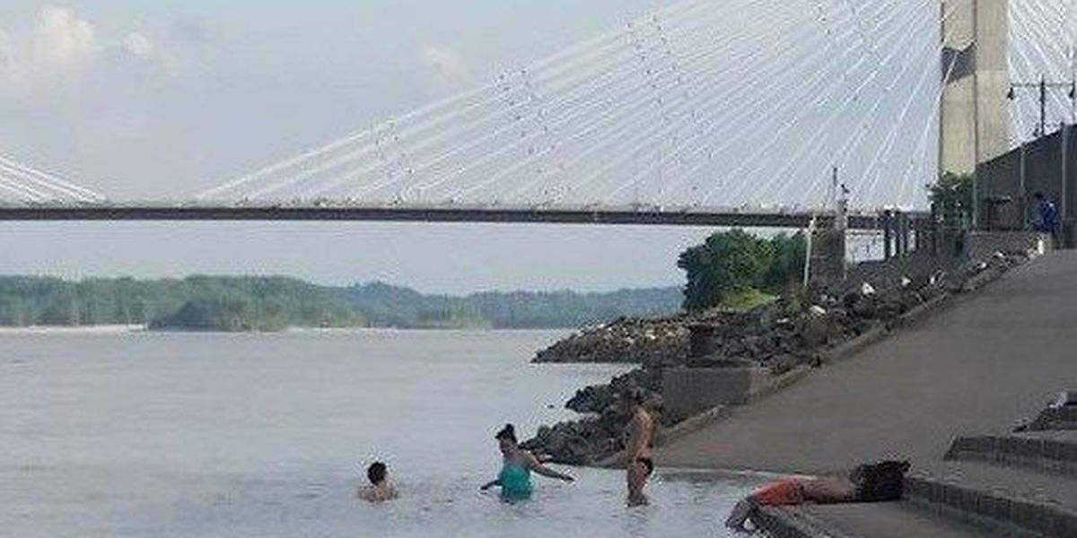 Cape Girardeau FD: Mississippi riverfront not for swimming