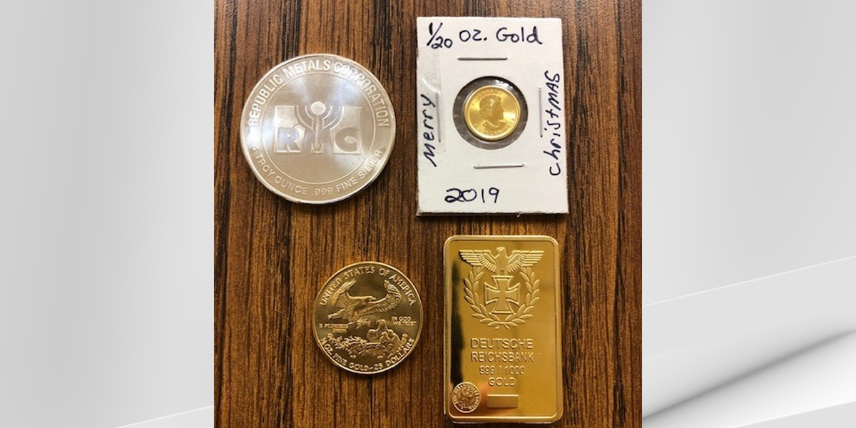Salvation Army finds gold bar, coins inside Red Kettles
