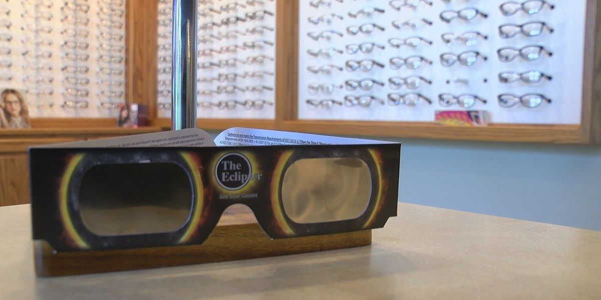 BE SAFE: Watching the eclipse could damage your eyes