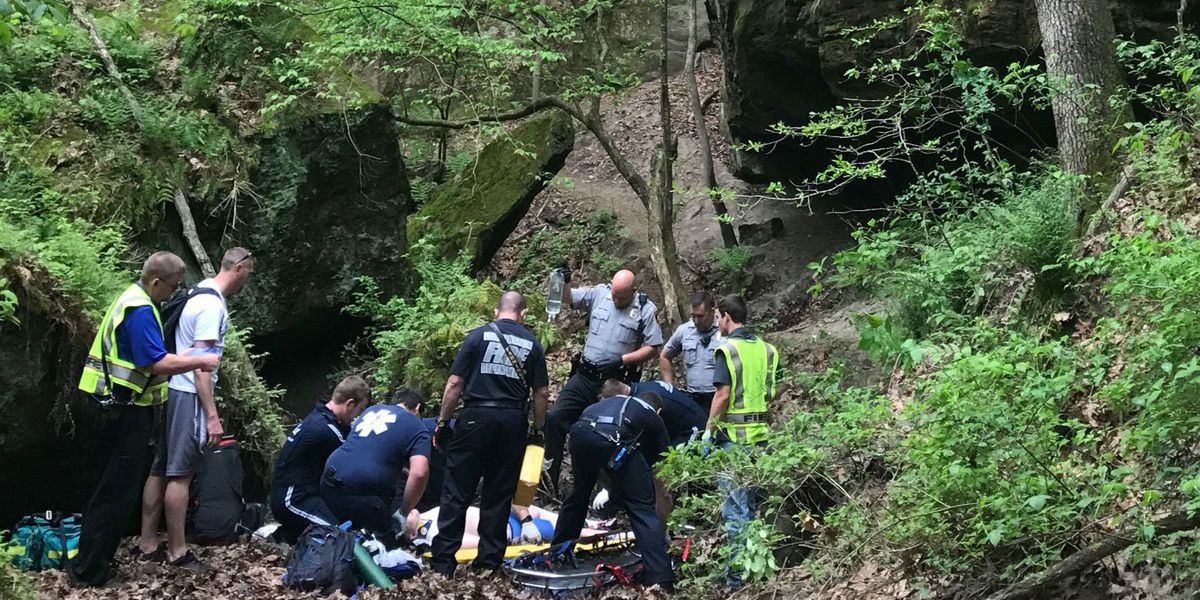 DeSoto, MO student rescued after fall at Pickle Springs Conservation Area