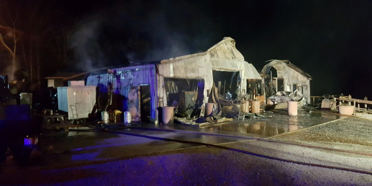 Overnight fire destroys brewery in Pomona, IL