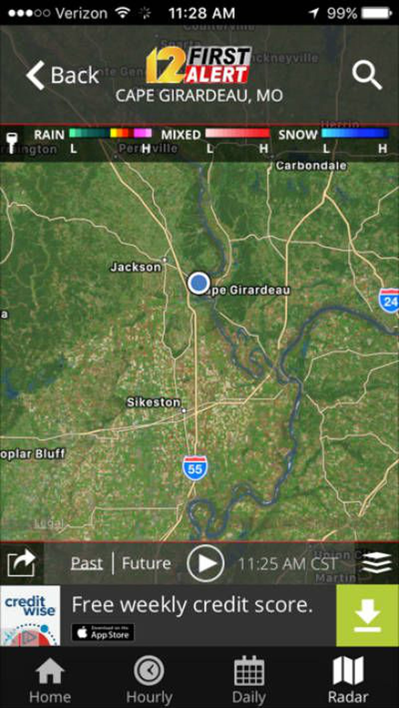 KFVS news and First Alert Weather apps