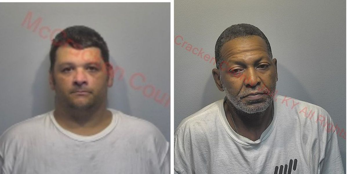2 men arrested in connection to Paducah store thefts