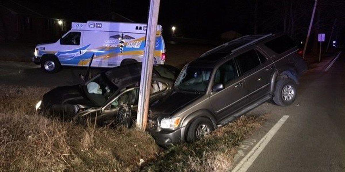 2 people injured after 2-car crash in McCracken Co., KY