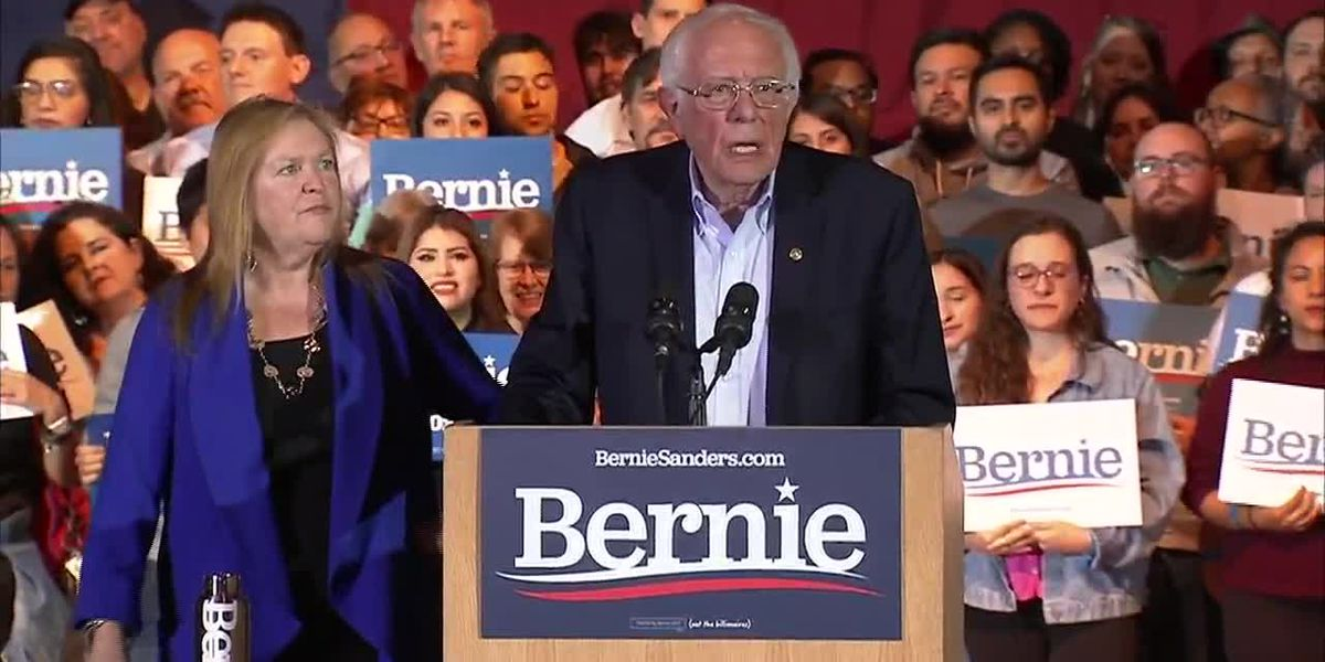 Sanders lauds grassroots movement behind him