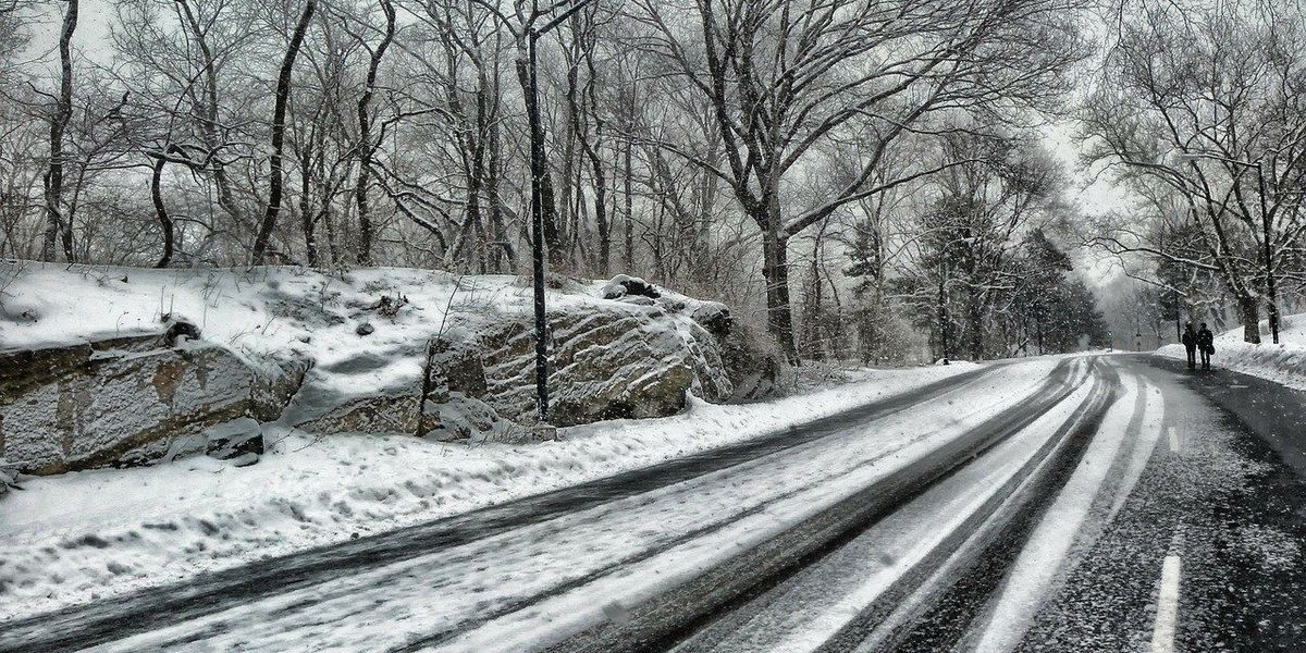 Road crews prepare early for winter weather