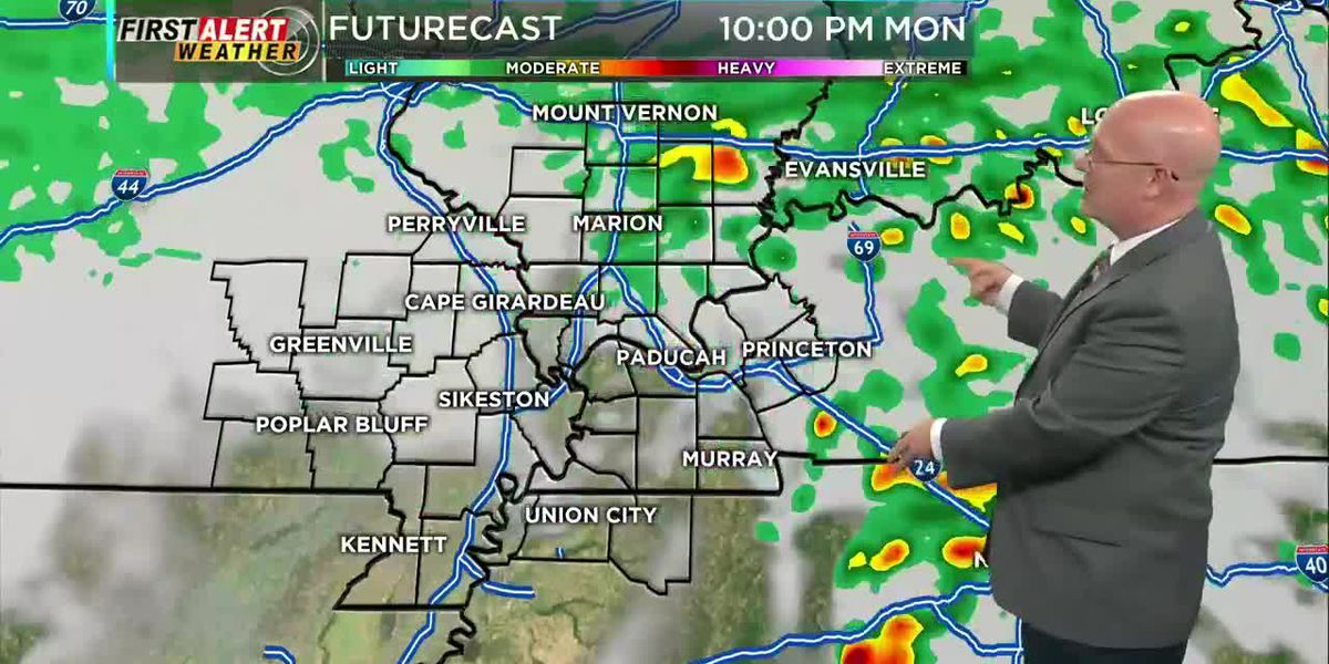 First Alert Forecast at 5 p.m. 2/24