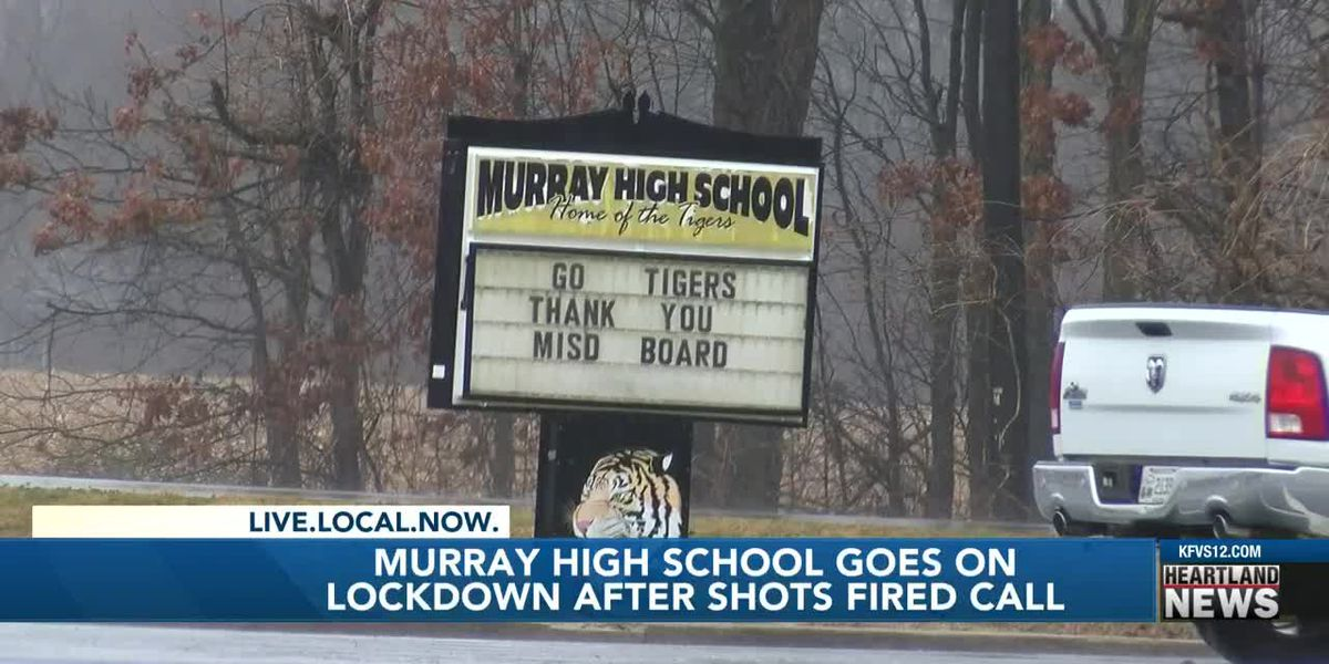 Police investigating after false report of shots fired at Murray H.S. led to a lockdown