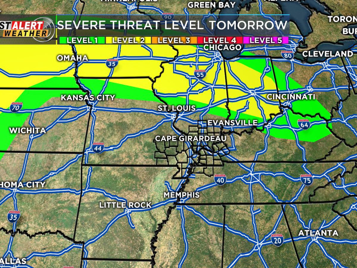 First Alert: Mostly clear, humid Sunday evening