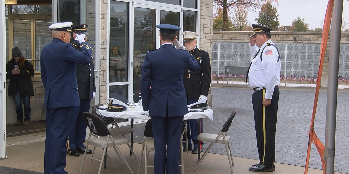 Veterans honored in Bloomfield despite wintry weather
