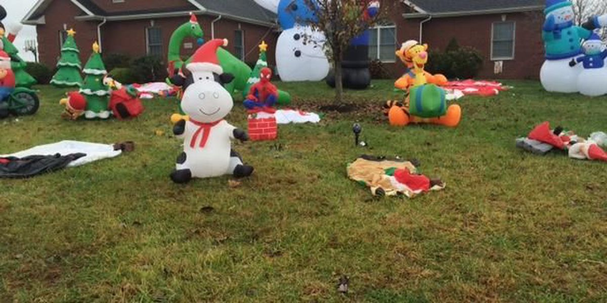 3 facing charges in connection to Christmas decoration vandalism at Jackson, MO home
