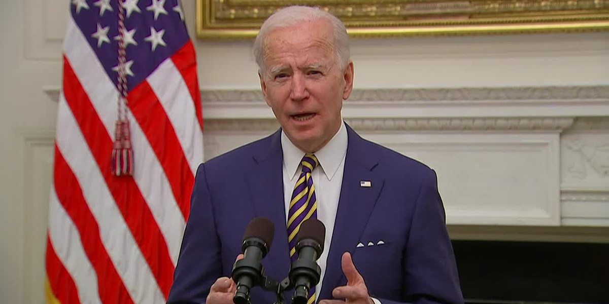 LIVE: Biden gives remarks on racial equality agenda