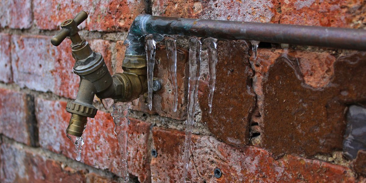 Prevent water damage from frozen, burst pipes