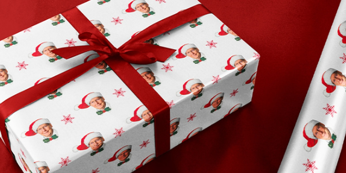 Celebrate the season with Mitch McConnell wrapping paper