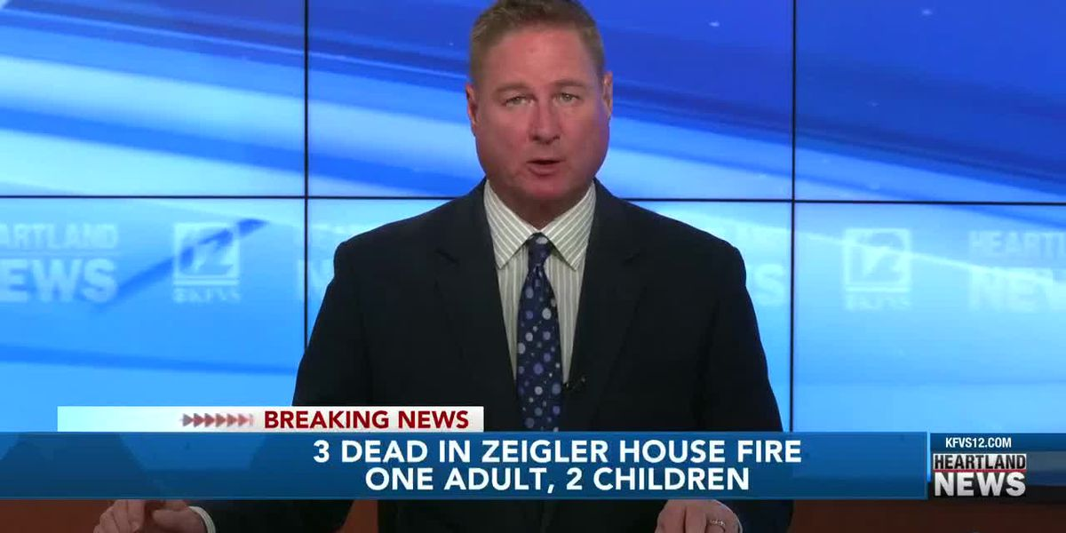 Adult, 2 children die in Zeigler, Ill. house fire