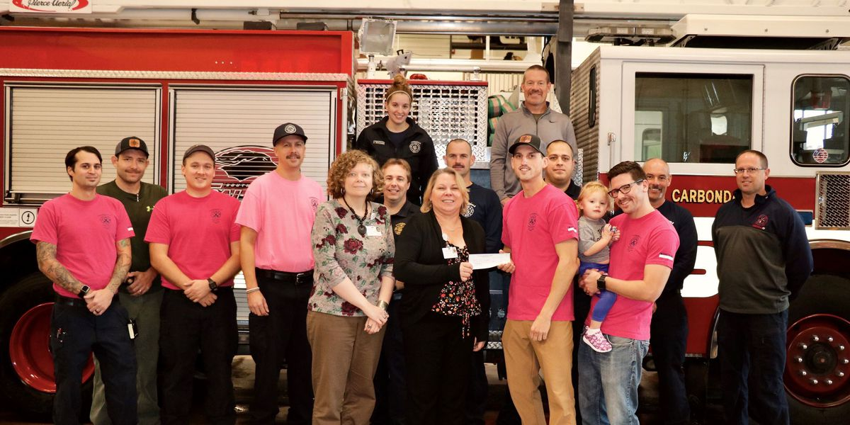 Carbondale firefighters raise money to help local cancer patients