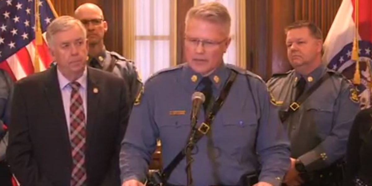 Superintendent of MO Highway Patrol sworn into office