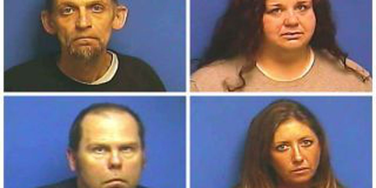 4 facing meth, drug charges after traffic stop in western Ky.