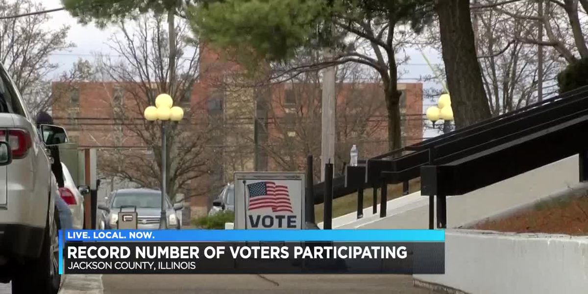Record number of voters participating