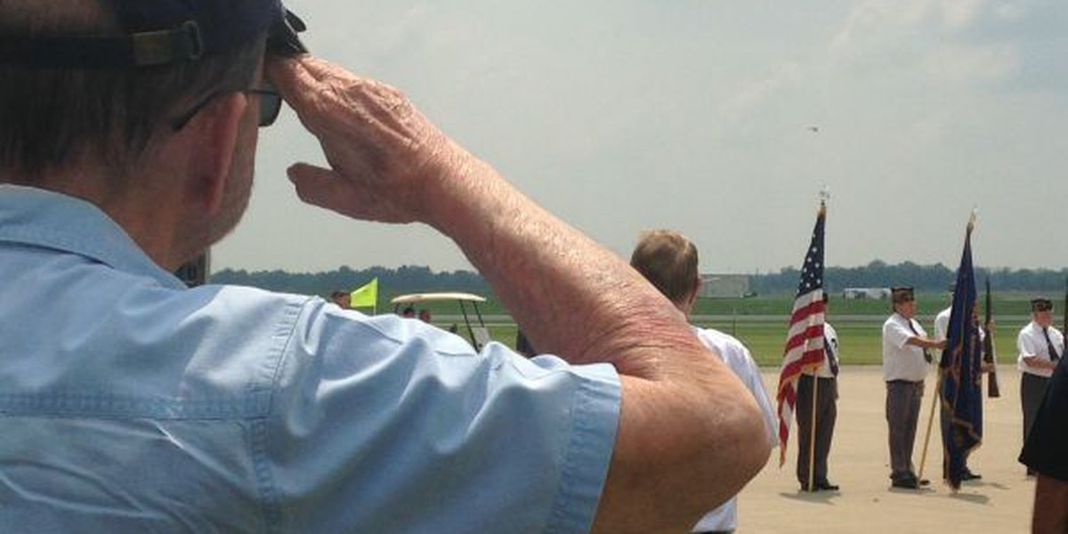 WWII veterans honored at Mt. Vernon airport