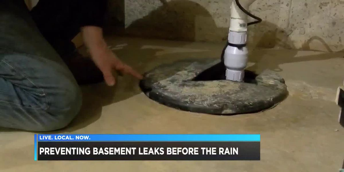 Preventing basement leaks before the rain