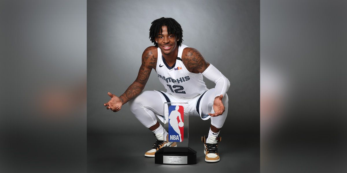Memphis Grizzlies' Ja Morant named 2020 NBA Rookie of the Year