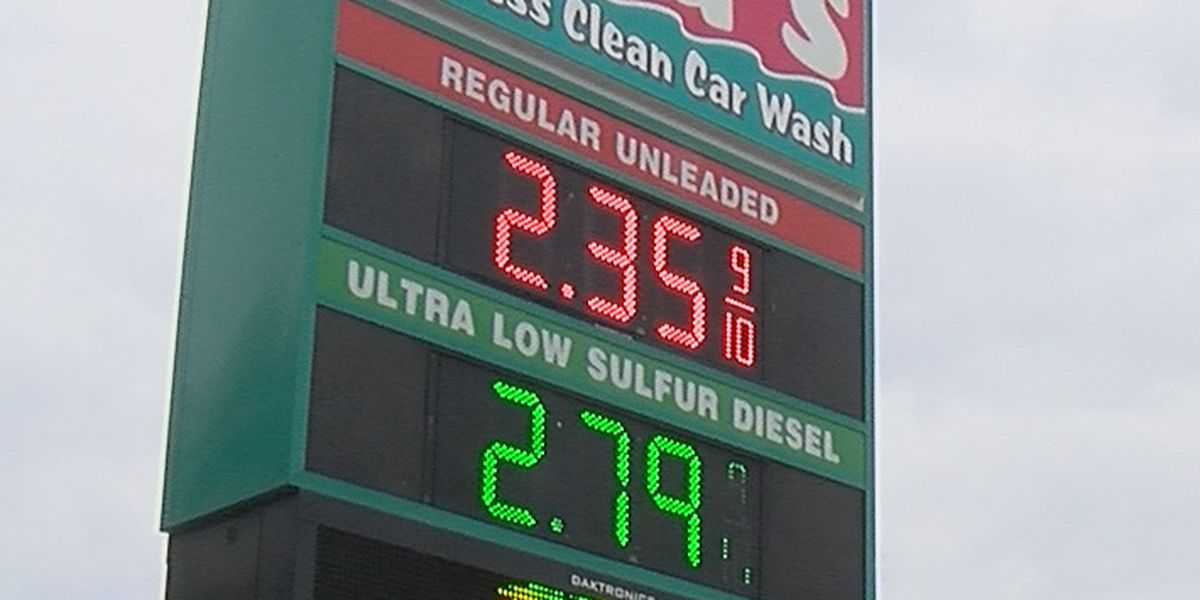 Gas prices continue to rise in the Heartland