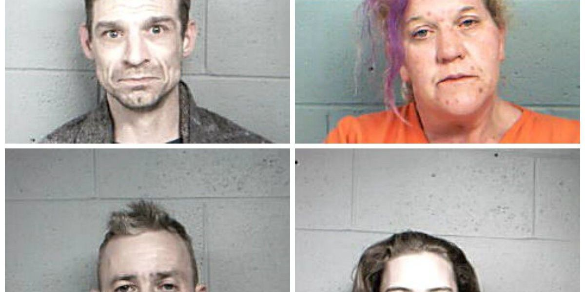 Several charged with meth possession in Pinckneyville, IL
