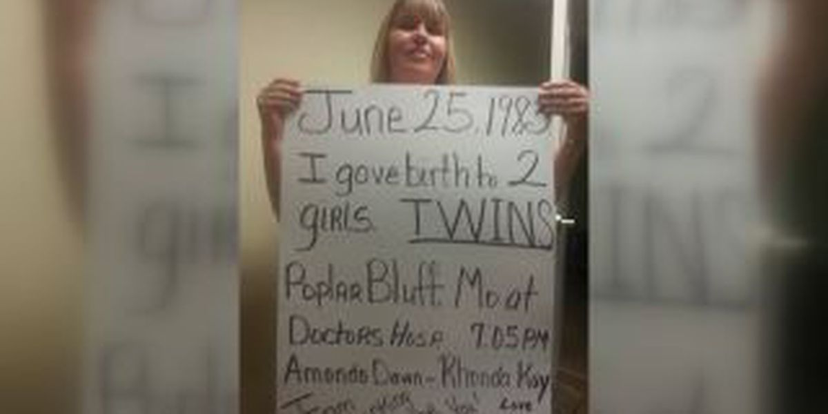 Poplar Bluff mother looks for twins after 31 years apart