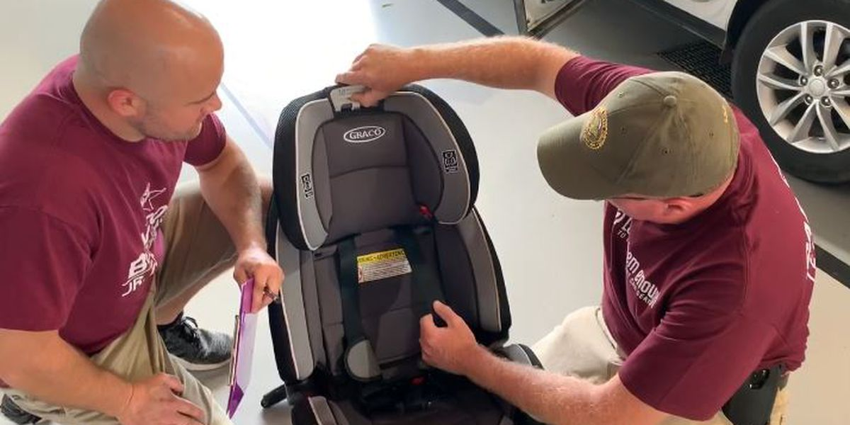 ISP, Benton Fire Department check car seats for Child Passenger Safety Week