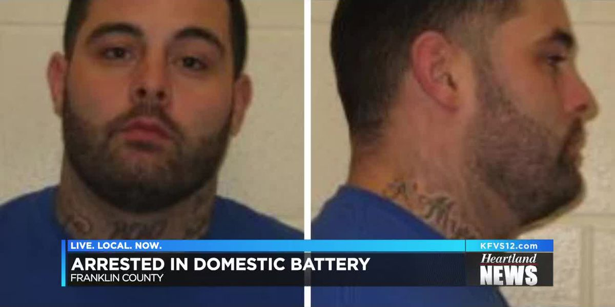 Domestic Battery arrest in Franklin Co., IL