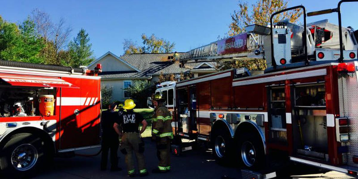 Cape Girardeau house catches fire from gas grill on porch