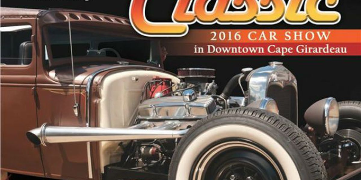 39th Annual River Tales Classic Car Show returns to downtown Cape Girardeau