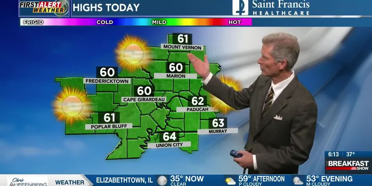 First Alert morning forecast 10/31