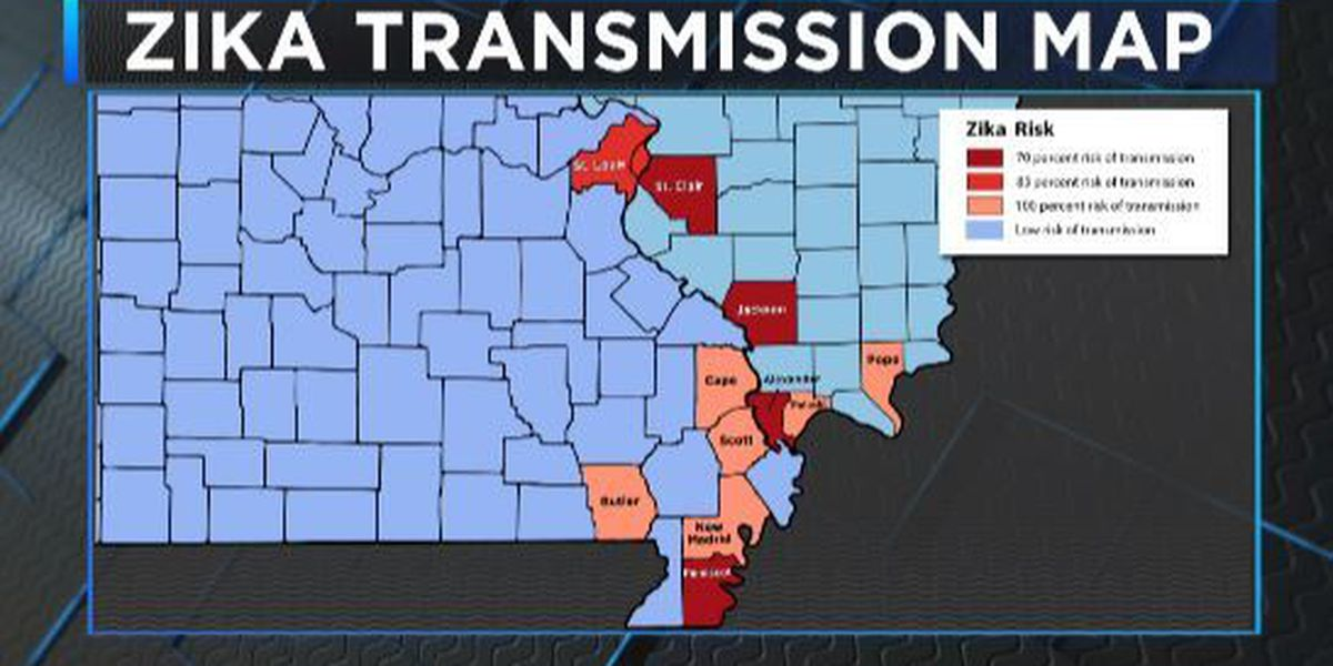 SLU study finds several Heartland counties at 'high risk' of Zika transmission