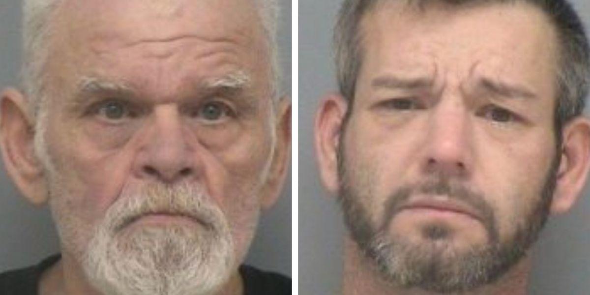 Burglary in progress reported, 2 IL men arrested
