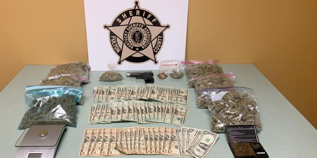 Police: Drugs, money, gun found in search