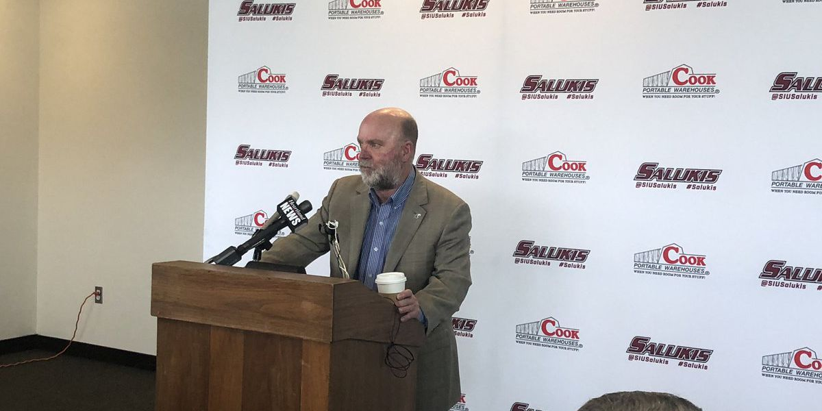SIU athletic director discusses search for Barry Hinson's replacement