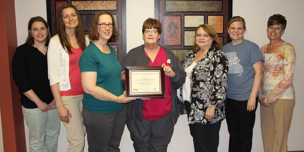 Perry Co. Memorial Hospital named a breastfeeding friendly worksite
