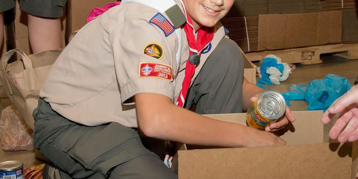 Scouting for Food Drive starts Saturday