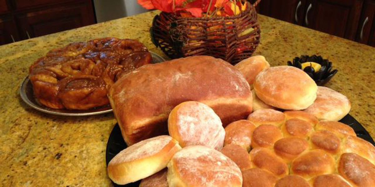 Heartland Cooks: Dufek Family Homemade Bread & Cinnamon Rolls