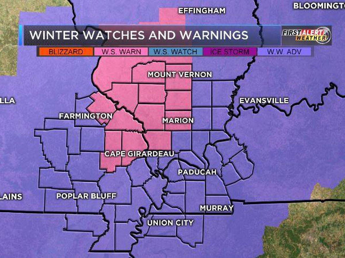 First Alert: Snow hits the Heartland