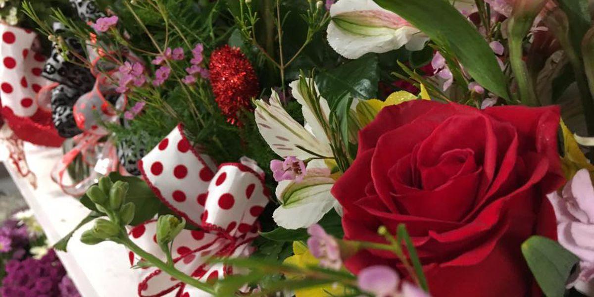Sales skyrocket for floral shops during Valentine's Day week