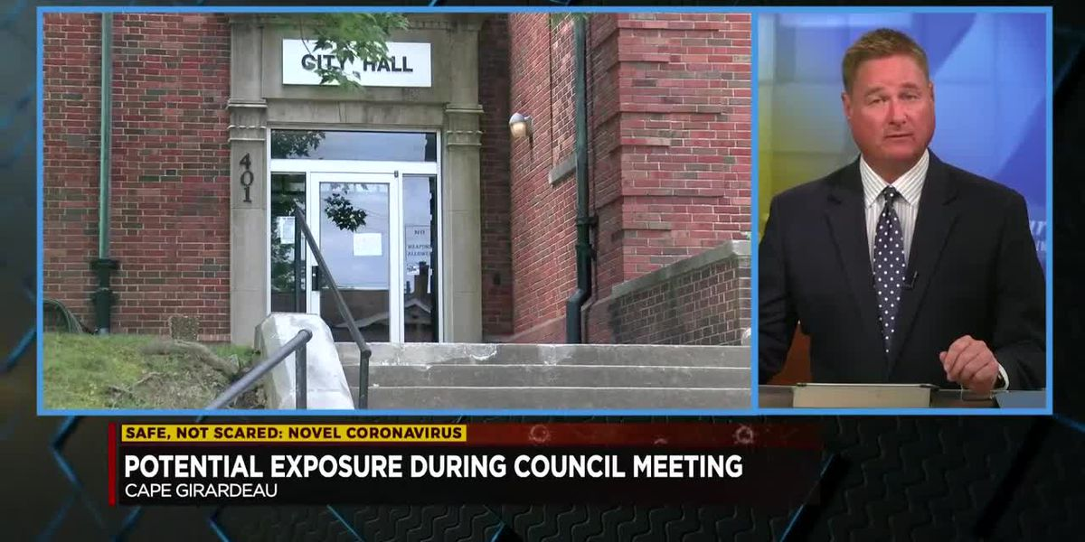 Cape Girardeau City employee tests positive after attending City Council meeting