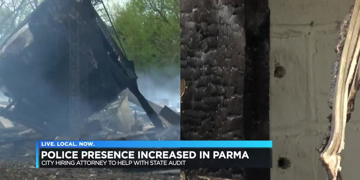 City leaders hold meeting in Parma after fires